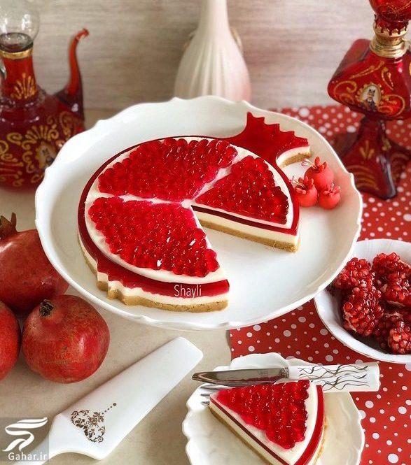 957495 Gahar ir e1576575217518 طرز تهیه چیز کیک یلدایی + فیلم آموزش