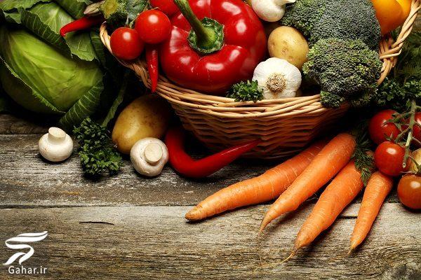 001596 Gahar ir کدام سبزیجات قبل از خوردن باید پخته شوند؟