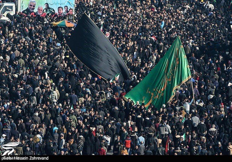 143235 Gahar ir عکسهای مراسم تشییع سردار سلیمانی با حضور باشکوه مردم