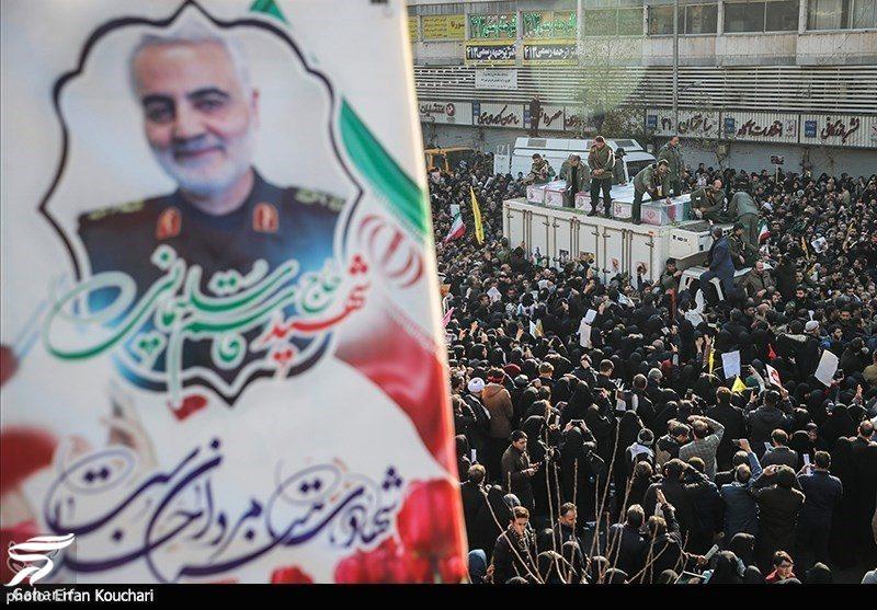 462432 Gahar ir عکسهای مراسم تشییع سردار سلیمانی با حضور باشکوه مردم