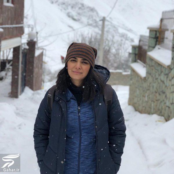 473641 Gahar ir عکسهای برفی لیندا کیانی در زمستان 98
