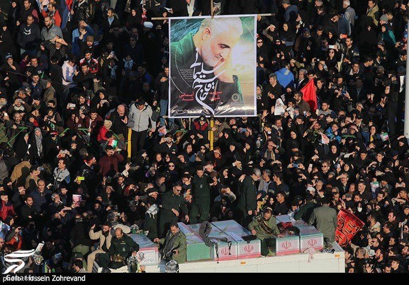 933329 Gahar ir عکسهای مراسم تشییع سردار سلیمانی با حضور باشکوه مردم