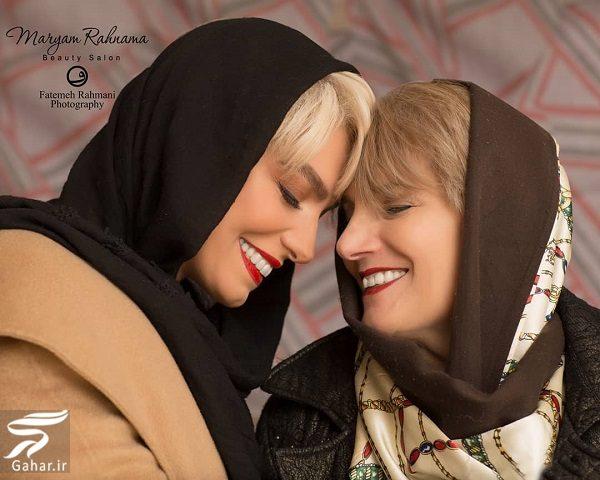 103372 Gahar ir عکسهای دیدنی بازیگران و مادرانشان در روز مادر