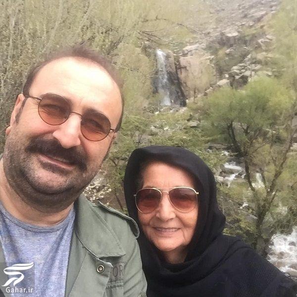 802788 Gahar ir عکسهای دیدنی بازیگران و مادرانشان در روز مادر
