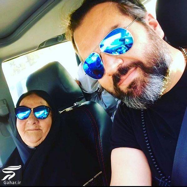 967666 Gahar ir عکسهای دیدنی بازیگران و مادرانشان در روز مادر