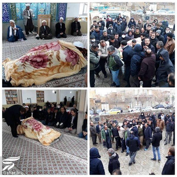 مراسم غریبانه تشییع سیامند رحمان قهرمان ایران و جهان, جدید 1400 -گهر