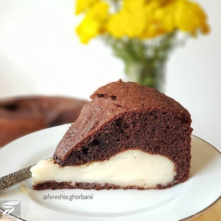 دستور پخت کیک ماگما شکلاتی + فیلم آموزشی, جدید 1400 -گهر