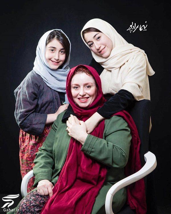 عکسی از ژاله صامتی و دخترانش, جدید 1400 -گهر