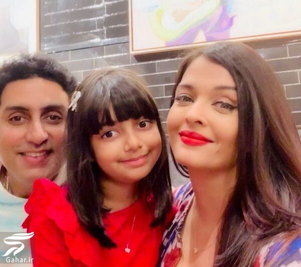 041137 Gahar ir عکسهای جدید آیشواریا رای به همراه دختر و همسرش