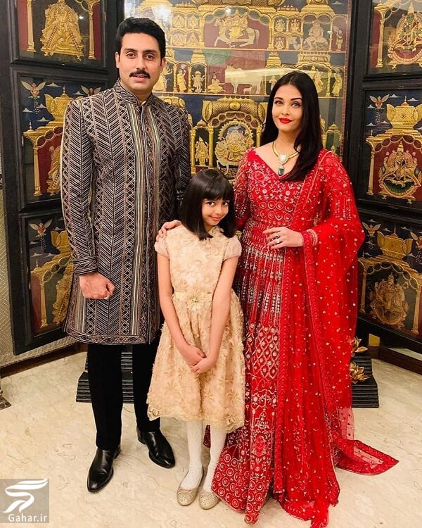 271933 Gahar ir عکسهای جدید آیشواریا رای به همراه دختر و همسرش