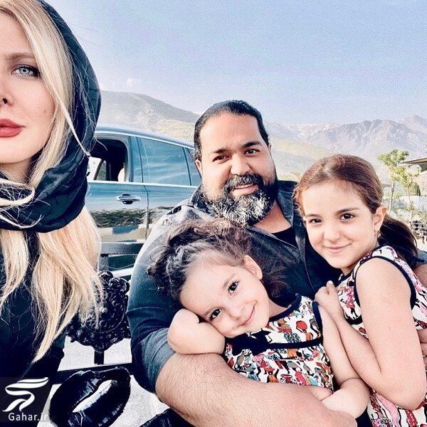 298444 Gahar ir رضا صادقی و خانواده اش در یک قاب | جدید