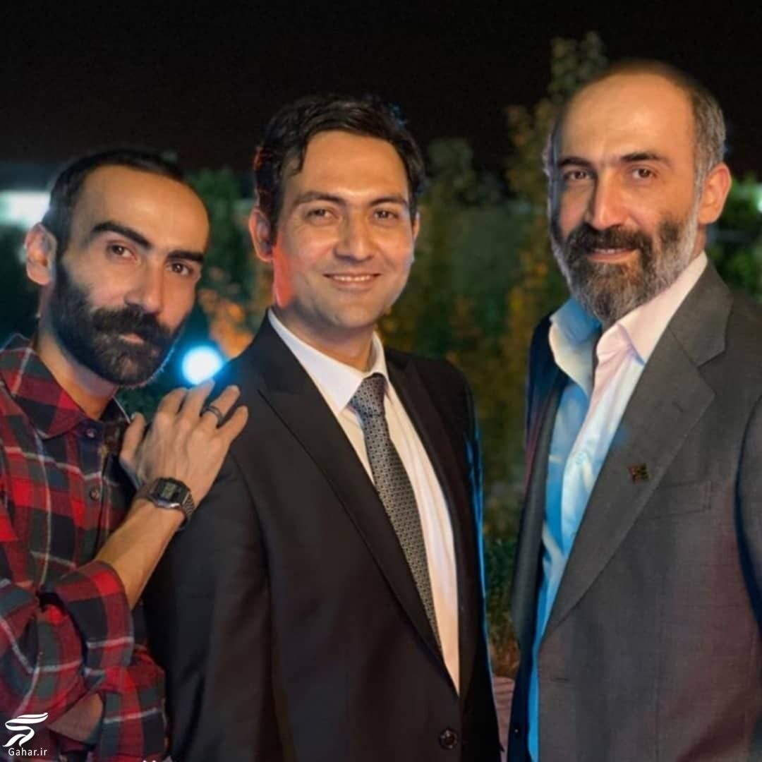 354517 Gahar ir شباهت عجیب و دیدنی هادی حجازی فر و برادرش + عکس