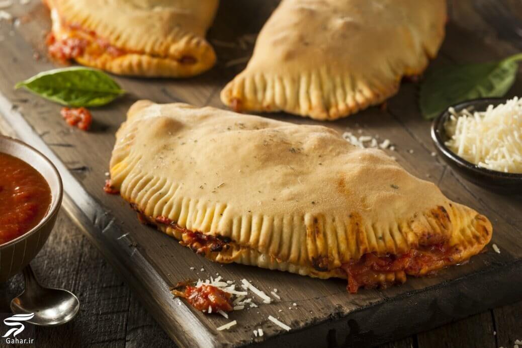 367381 Gahar ir طرز تهیه پیتزا کالزونه با مرغ و سس مخصوص