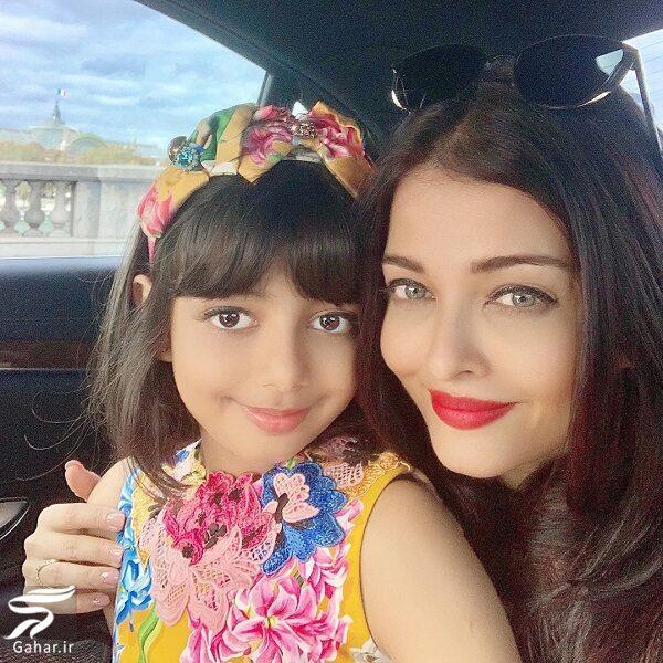 416402 Gahar ir عکسهای جدید آیشواریا رای به همراه دختر و همسرش