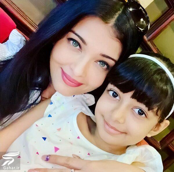 545806 Gahar ir عکسهای جدید آیشواریا رای به همراه دختر و همسرش