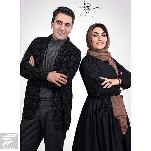 661093 Gahar ir عکسهای جدید الهام طهموری بازیگر وارش و همسرش