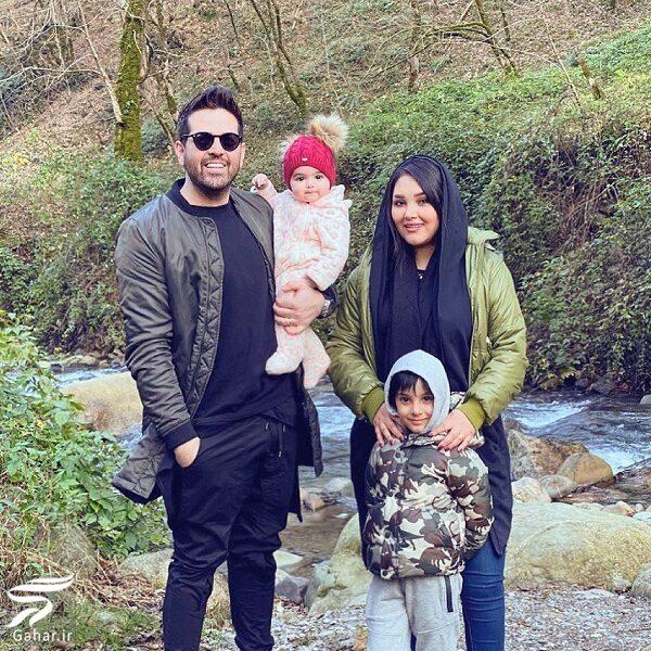 686571 Gahar ir عکس جدید عماد طالب زاده در کنار همسر و فرزندانش