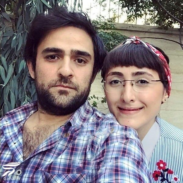 829301 Gahar ir علی هاشمی و همسرش ، بازیگر نقش شهاب در سریال سرباز