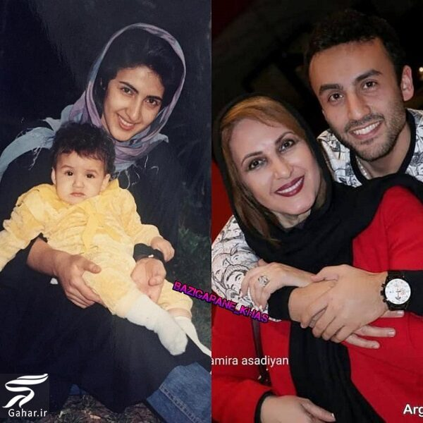 099044 Gahar ir عکس دیدنی از فاطمه گودرزی و پسرش در گذر زمان