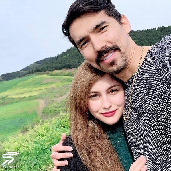 اولین عکس فرهاد قائمی و همسرش, جدید 99 -گهر