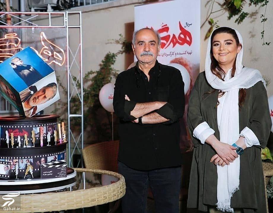 322458 Gahar ir عکس های دورهمی بازیگران سریال هم گناه در جشن تولد پرویز پرستویی