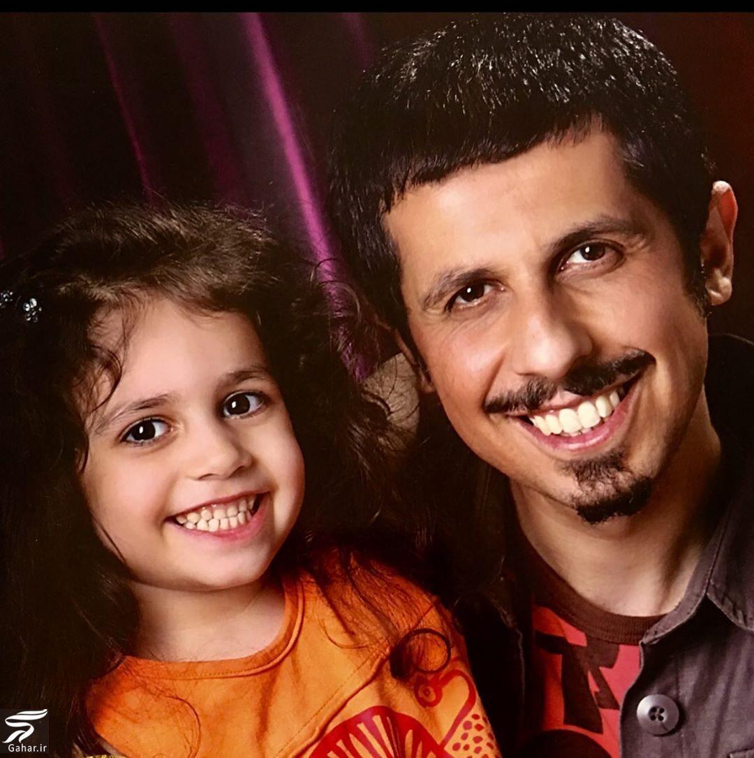 518884 Gahar ir شباهت زیاد جواد رضویان و دخترش + عکس