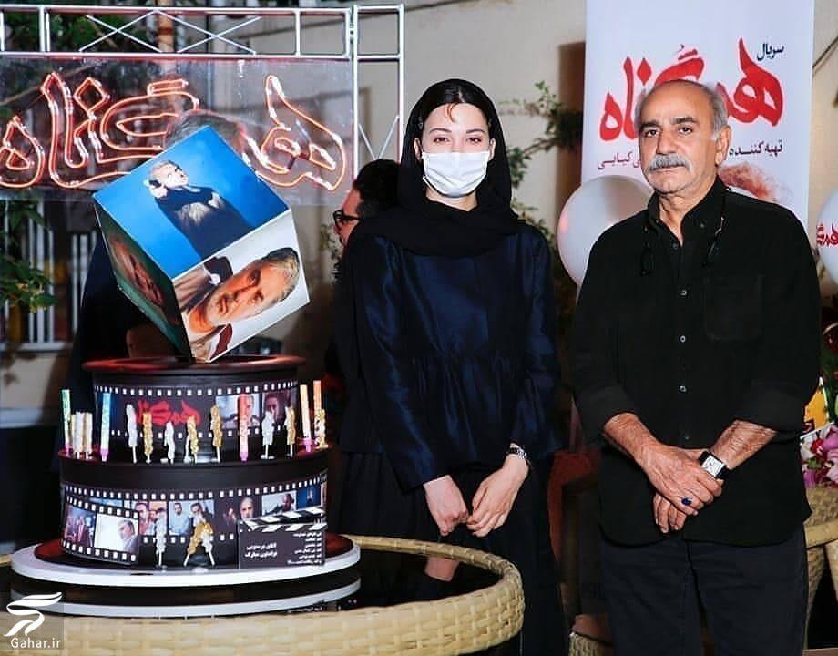 684994 Gahar ir عکس های دورهمی بازیگران سریال هم گناه در جشن تولد پرویز پرستویی