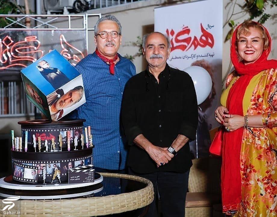 703453 Gahar ir عکس های دورهمی بازیگران سریال هم گناه در جشن تولد پرویز پرستویی