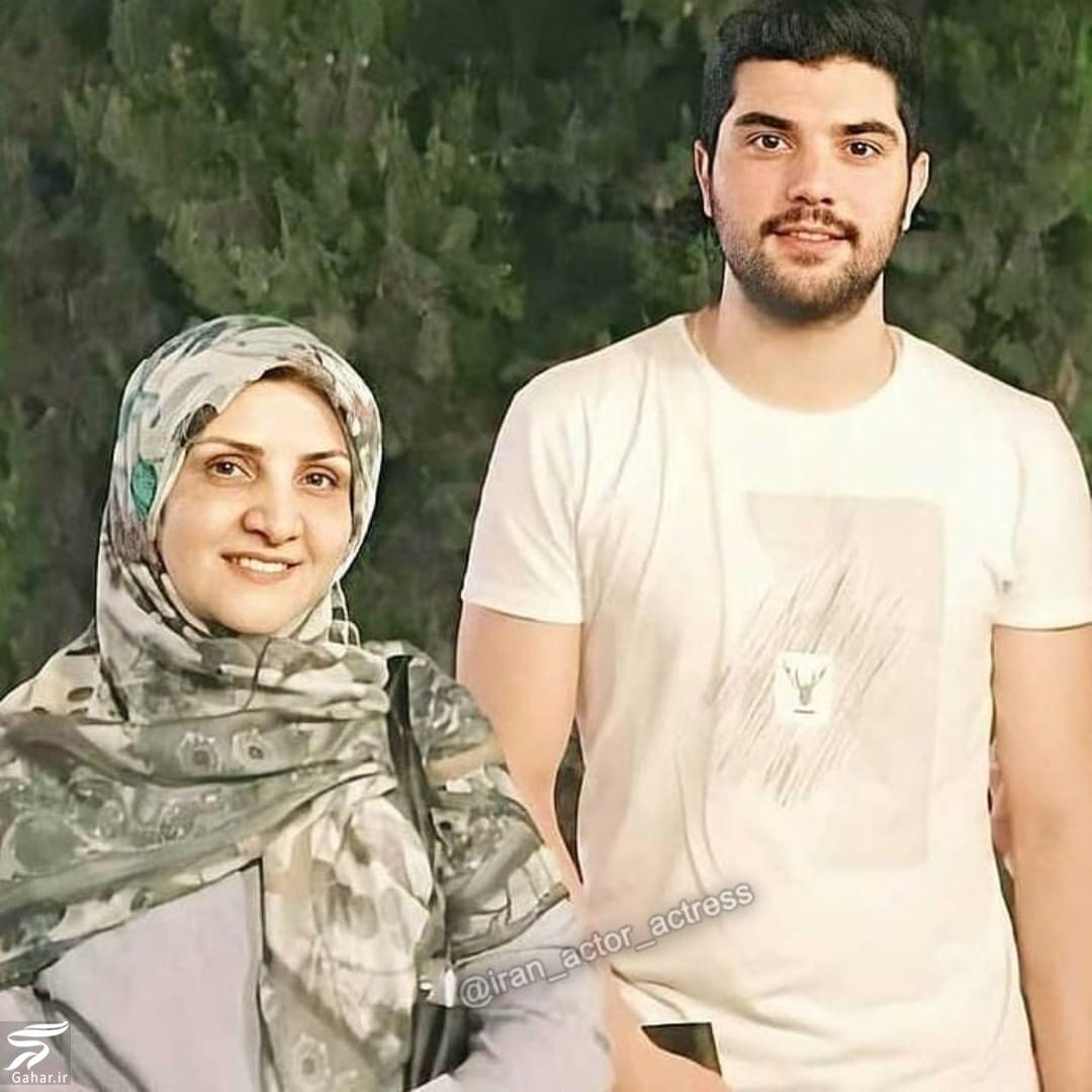 026932 Gahar ir عکس مادر سینا مهراد با چهره ای جوان و زیبا