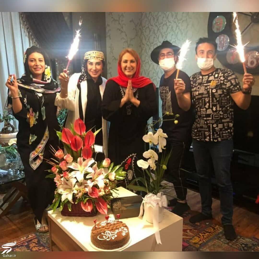 عکسهای جشن تولد فاطمه گودرزی بدون رعایت پروتکل های بهداشتی!, جدید 1400 -گهر