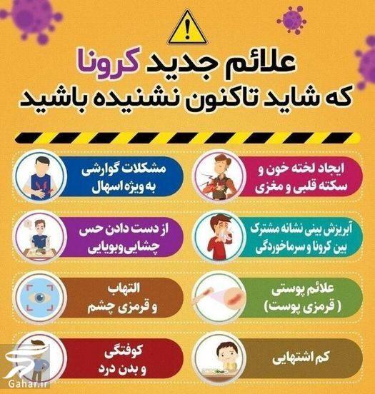 398355 Gahar ir علائم جدید ویروس کرونا که باید بدانید