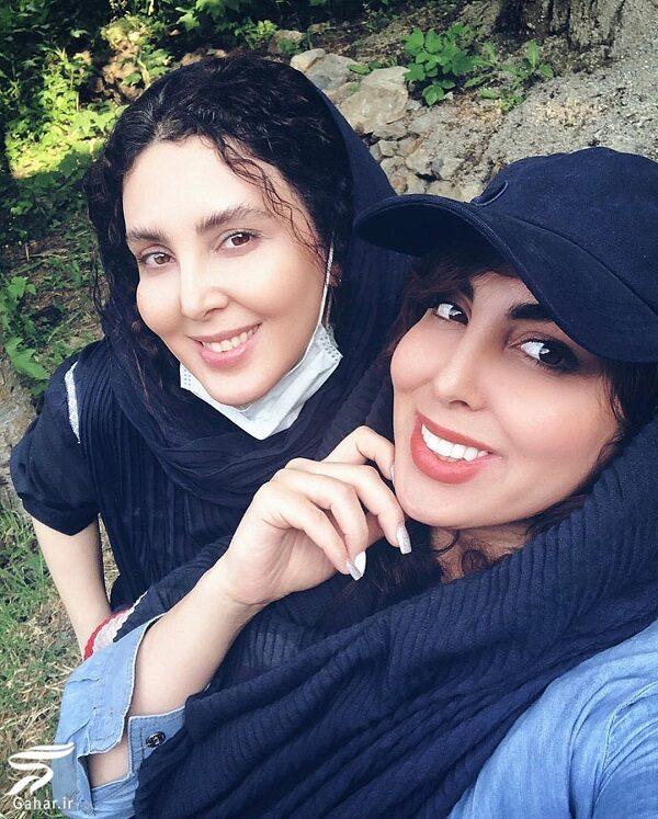 500232 Gahar ir عکسهای جدید لیلا بلوکات بعد از شکست کرونا در کنار خواهرش