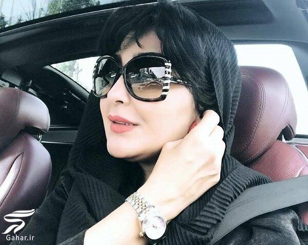عکسهای مریم معصومی در ماشین لاکچری اش!, جدید 1400 -گهر