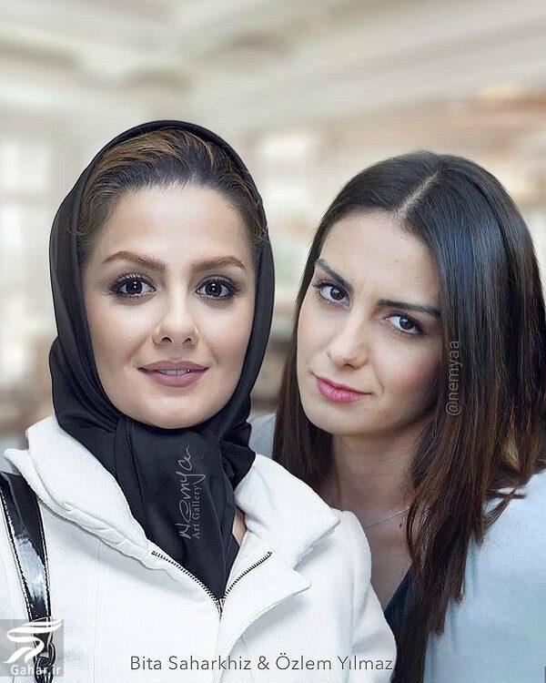 شباهت جالب بازیگران ایرانی و خارجی / تصاویر, جدید 1400 -گهر