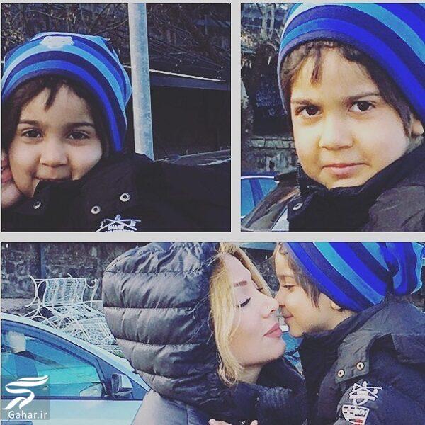 همسر محسن چاوشی به همراه فرزندش زانکو/ عکس, جدید 1400 -گهر