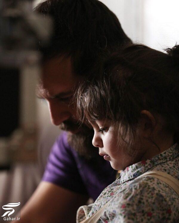 عکس جدید هومن سیدی و دخترش نیل, جدید 99 -گهر