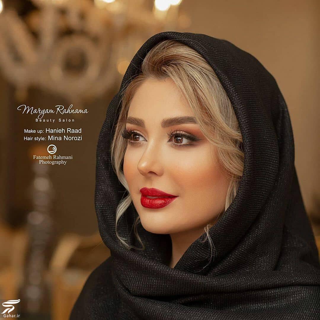911758 Gahar ir عکسهای زیبا و جذاب از جدیدترین آرایش نیوشا ضیغمی