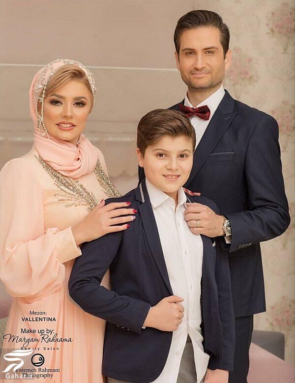 146612 Gahar ir عکسهای بیستمین سالگرد ازدواج پویا امینی و همسرش