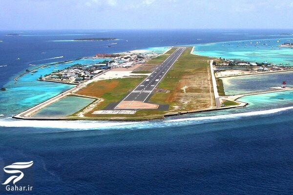 553980 Gahar ir زیباترین فرودگاه در وسط دریا / تصاویر