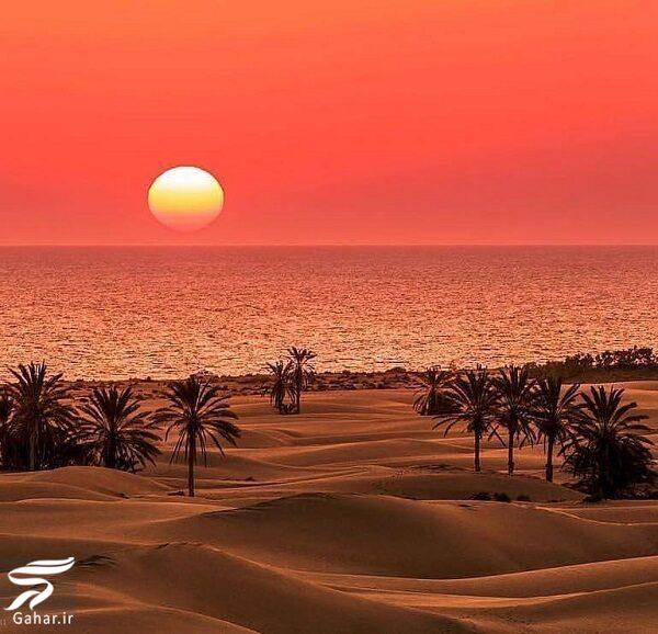735492 Gahar ir قطعه ای از بهشت در ایران / جایی که دریا و کویر به هم می رسند