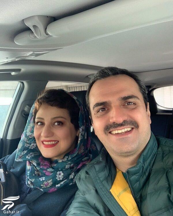 عکس شبنم مقدمی و همسرش علیرضا آرا, جدید 1400 -گهر