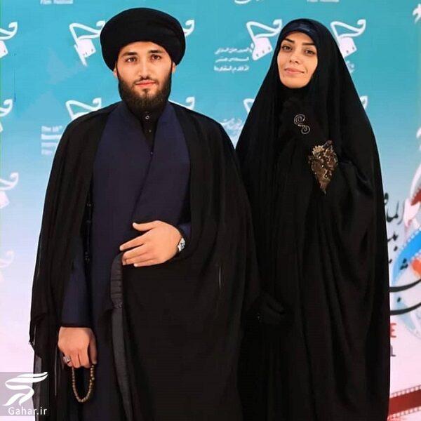 432338 Gahar ir عکس الهام چرخنده و همسر سومش