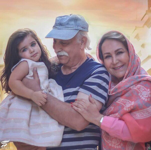 583011 Gahar ir e1600179758552 عکسهای محمود پاک نیت در کنار همسر و نوه زیبایش