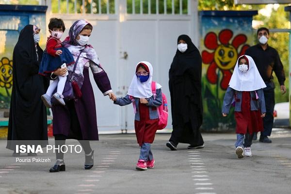 898748 Gahar ir گزارش تصویری آغاز سال تحصیلی با رعایت پروتکل های بهداشتی