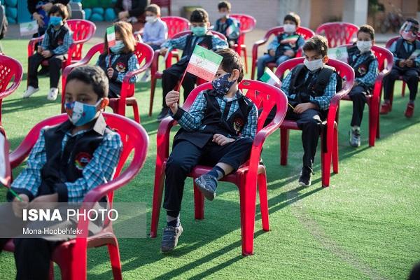 910995 Gahar ir گزارش تصویری آغاز سال تحصیلی با رعایت پروتکل های بهداشتی