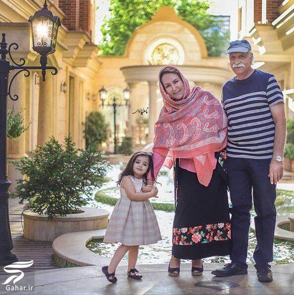945553 Gahar ir عکسهای محمود پاک نیت در کنار همسر و نوه زیبایش
