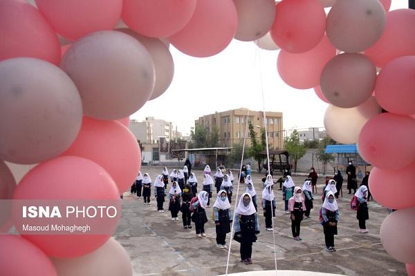 973679 Gahar ir گزارش تصویری آغاز سال تحصیلی با رعایت پروتکل های بهداشتی
