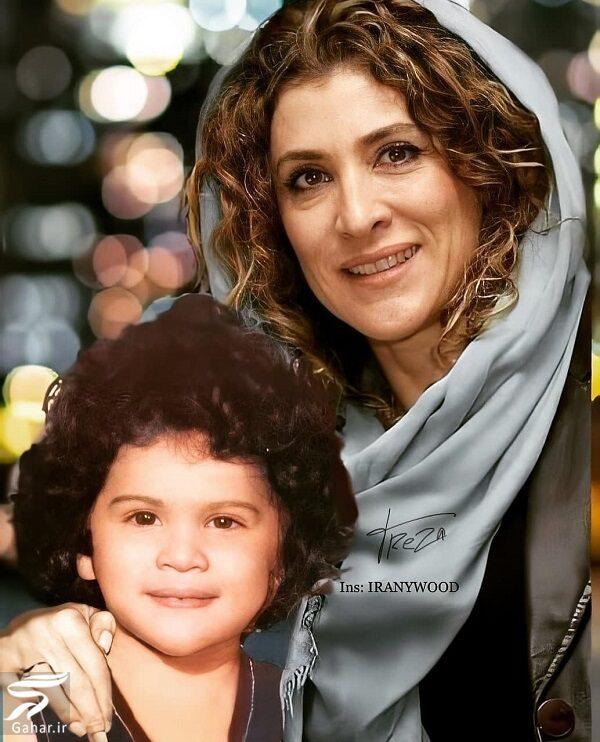 012530 Gahar ir تصاویر جالب بازیگران از کودکی تا بزرگسالی