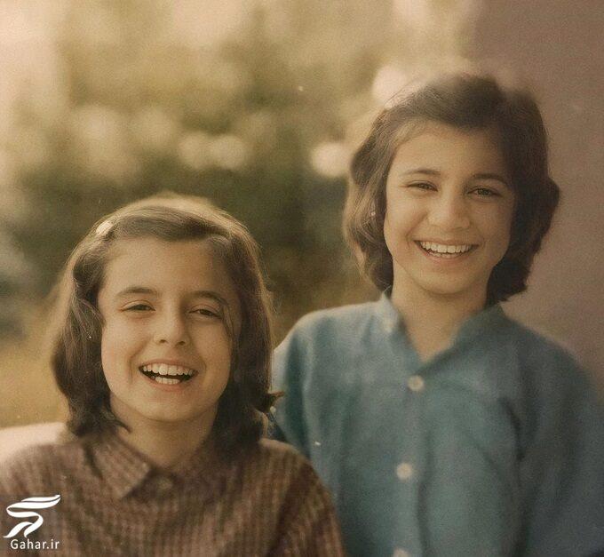 عکس دیدنی از کودکی لیلی رشیدی و لیلا حاتمی, جدید 99 -گهر