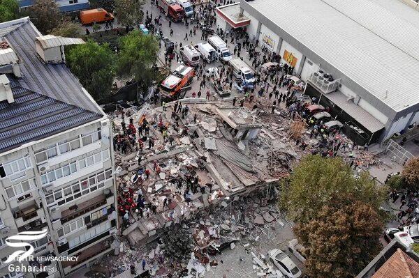 تصاویری از زلزله مهیب ترکیه, جدید 1400 -گهر